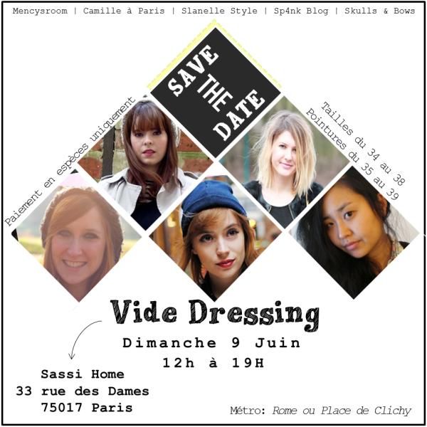 vide dressing flyer